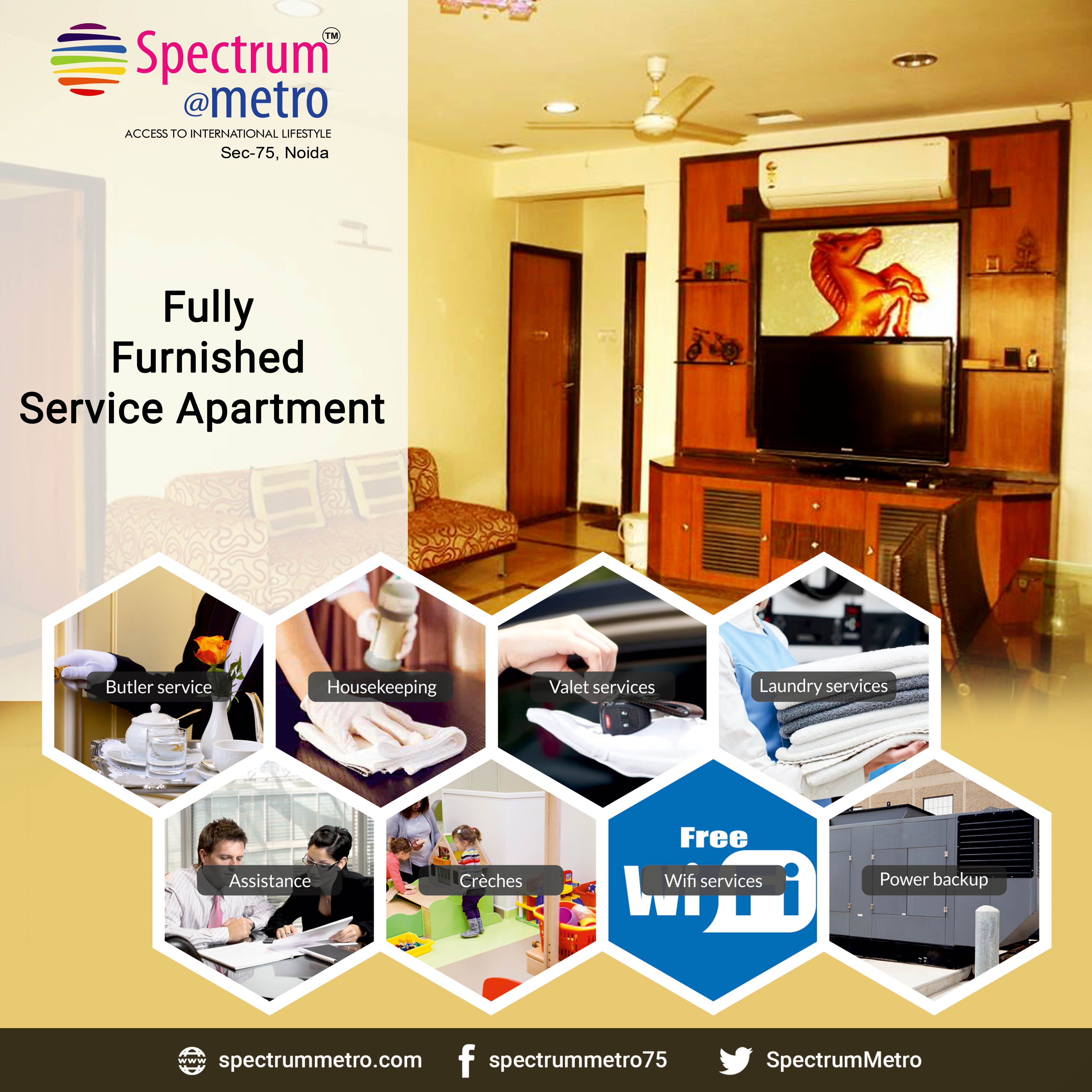 serviced Apartment in Noida