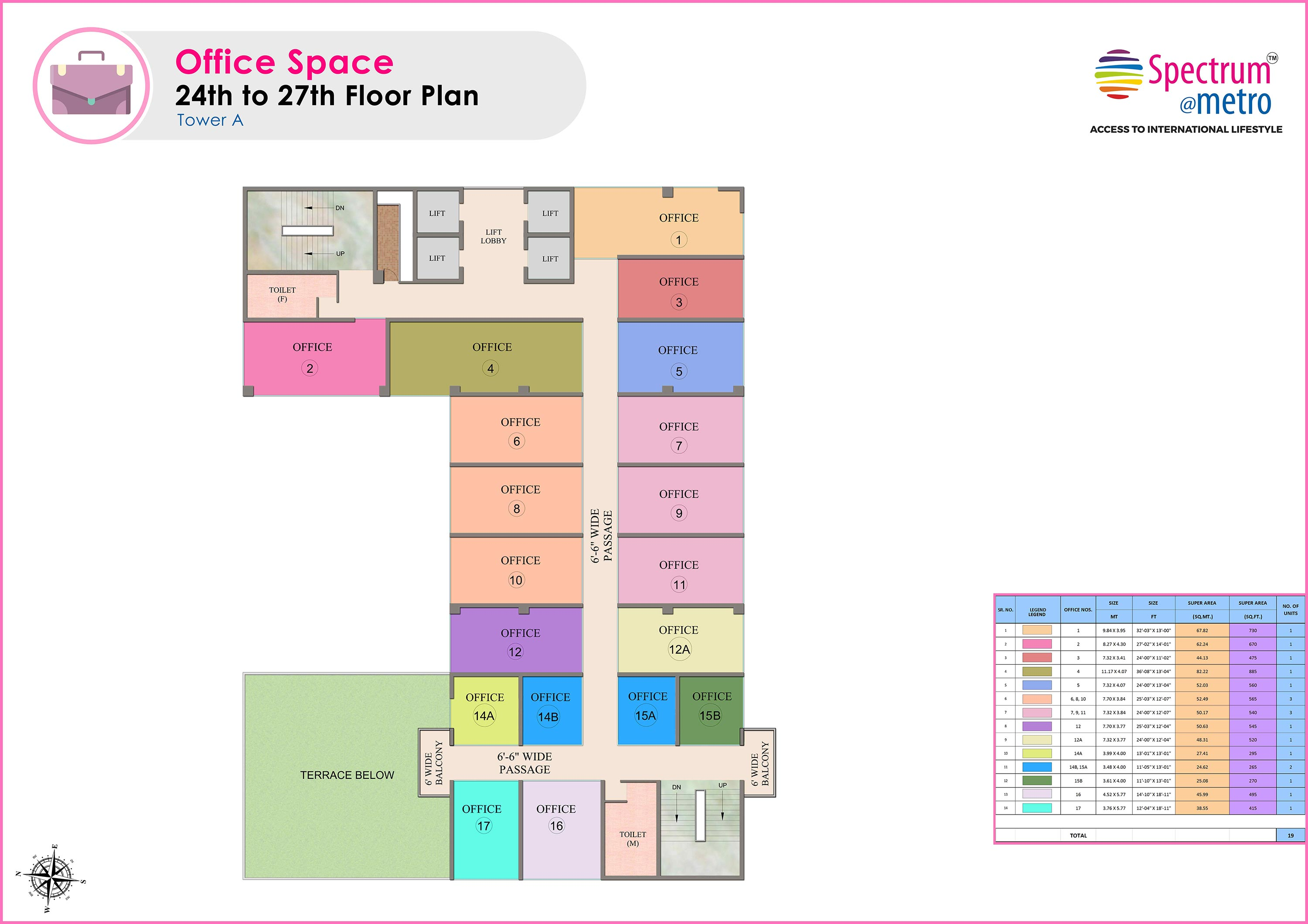 office space floor plan. Fplan-1 Office Space Floor Plan