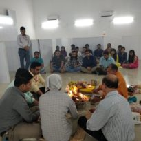 Shifting to New Office and Performing Rituals